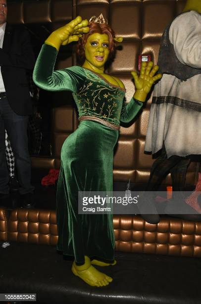 Model/TV Personality Heidi Klum attends Heidi Klum's 19th Annual Halloween Party Sponsored by SVEDKA Vodka and Party City at Lavo NYC on October 31,...