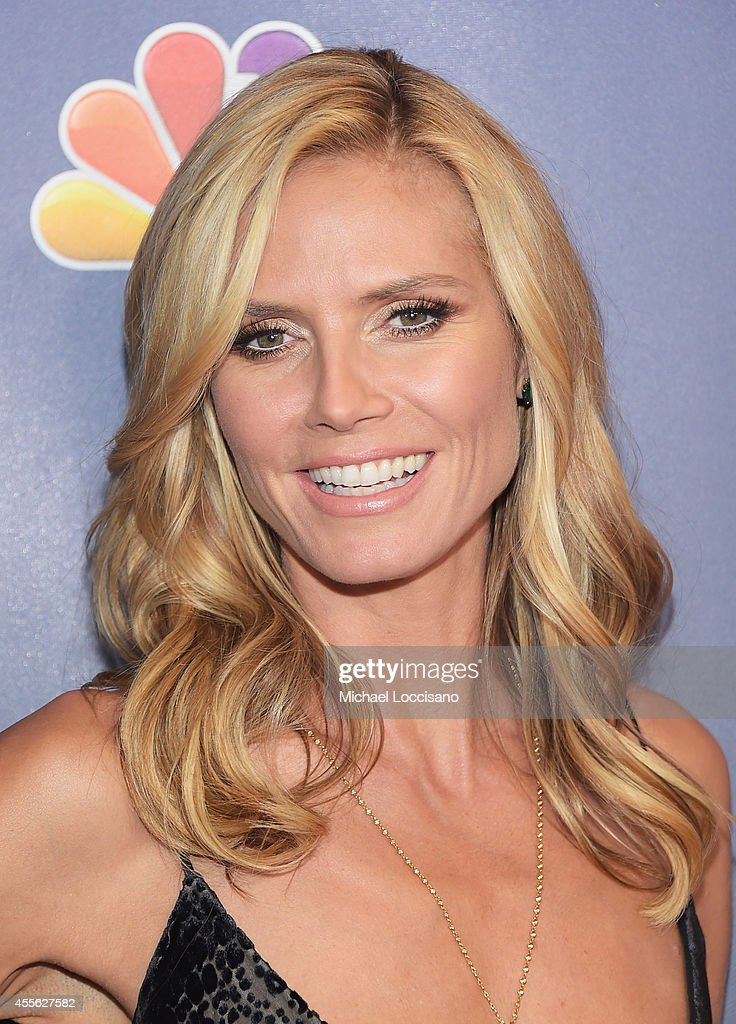 Model/TV personality Heidi Klum attends the 'America's Got Talent' season 9 finale red carpet event at Radio City Music Hall on September 17, 2014 in New York City.