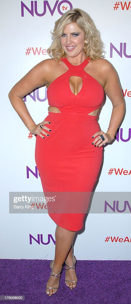 Model/tv personality Ivory May Kalber attends NUVOtv Network launch party at The London West Hollywood on July 16, 2013 in West Hollywood, California.