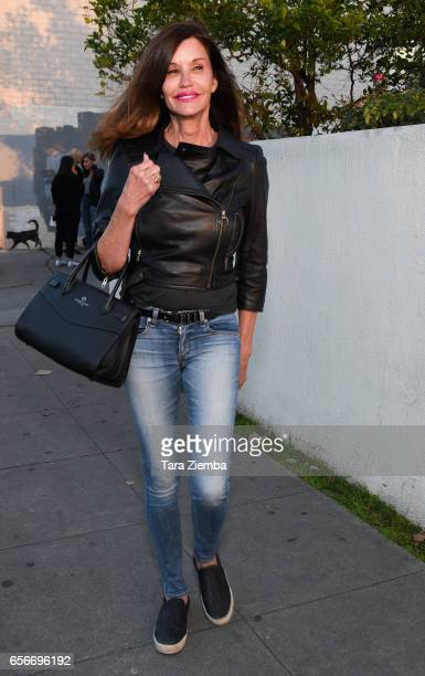 Model/TV personality Janice Dickinson is seen in West Hollywood on March 22 2017 in Los Angeles California