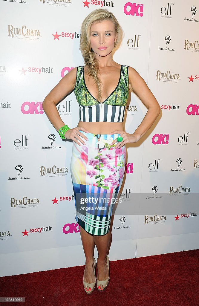 Model/TV personality Joanna Krupa attends OK Magazine's So Sexy L.A. Event at LURE on May 21, 2014 in Los Angeles, California.
