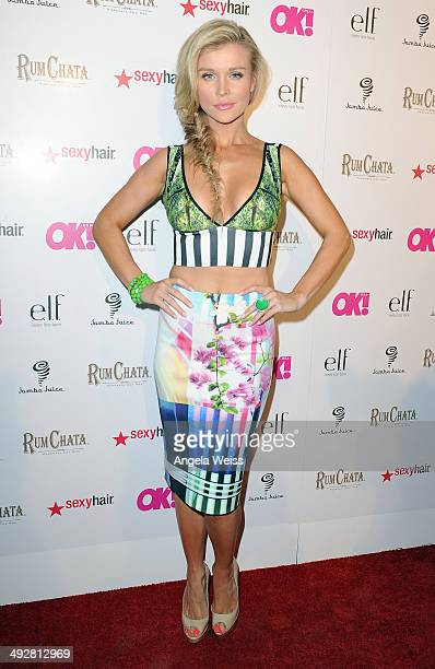 Model/TV personality Joanna Krupa attends OK Magazine's So Sexy LA Event at LURE on May 21 2014 in Los Angeles California