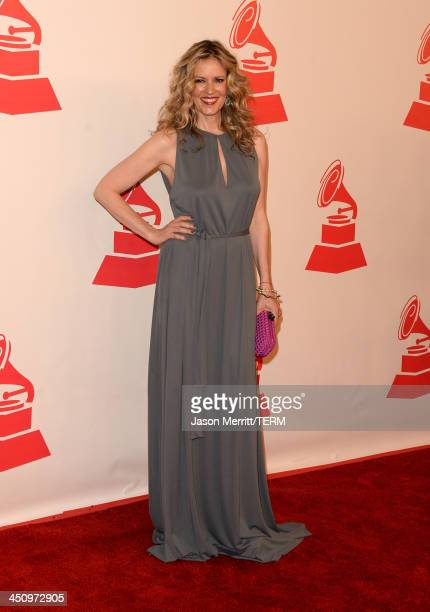 Model/tv personality Rebecca de Alba arrives at the 2013 Latin Recording Academy Person Of The Year honoring Miguel Bose at the Mandalay Bay...