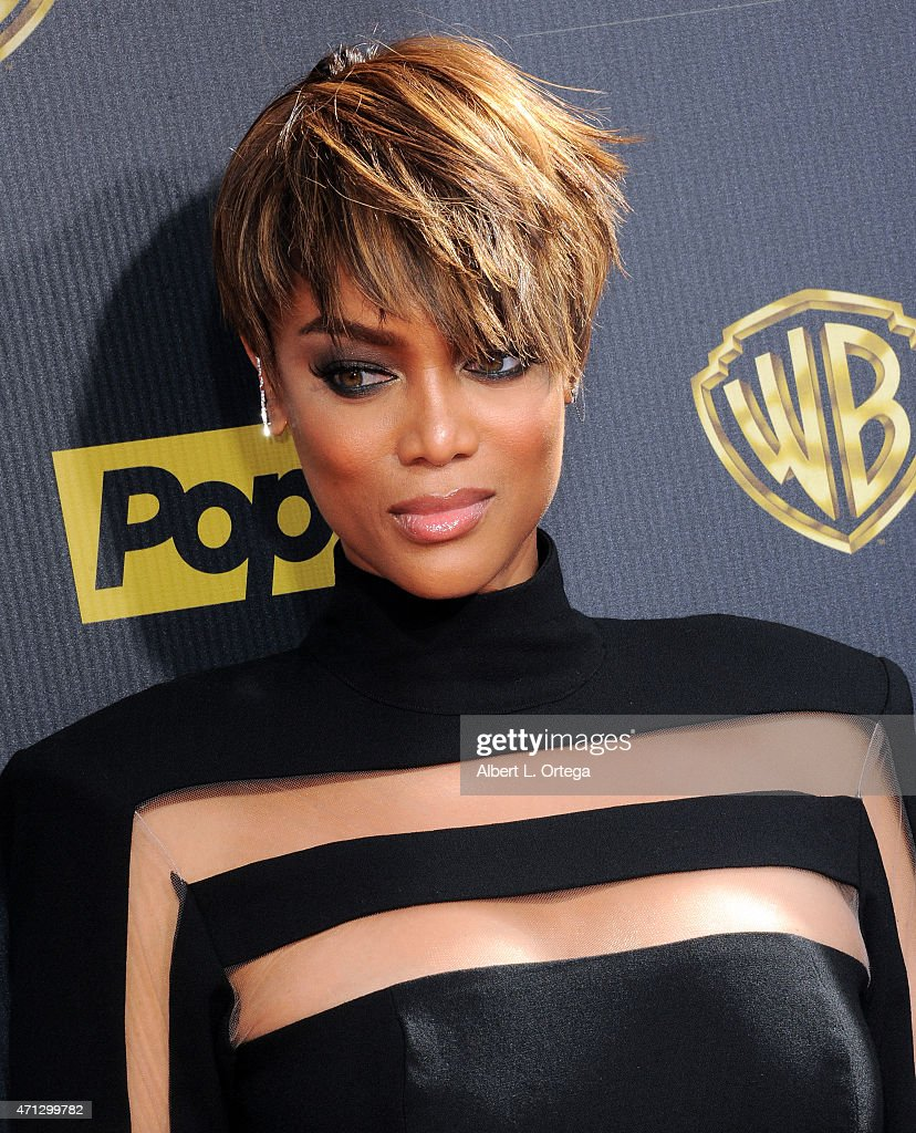 Tyra Banks Awards: Model/TV Personality Tyra Banks Arrives For The 42nd