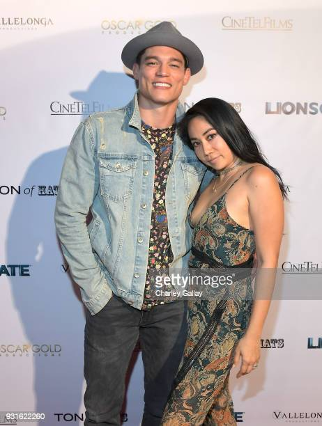 Model/UFC fighter Alan Jouban attends the Lionsgate Release Party for Doomsday Device and Mindblown on March 12 2018 in Los Angeles California