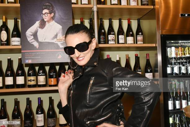 Model/writer Sylvie Ortega Munos attends the Filles A Cotelettes Party Hosted by Grand Seigneur Magazine at Grocery/Bar Bel Ordinaire on June 18 2018...