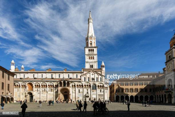 modena cathedral, modena, italy - modena stock pictures, royalty-free photos & images