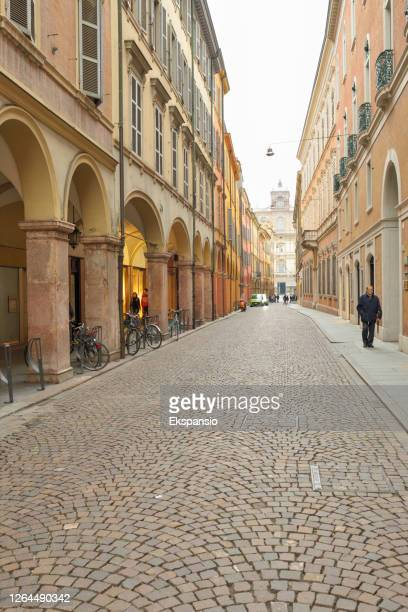 modena old town - modena stock pictures, royalty-free photos & images
