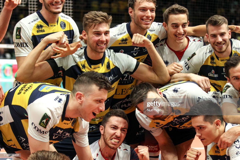 ITA: Modena v Perugia - Italian Volley Superleague Semifinals