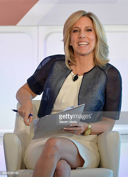 Moderator Alisyn Camerota speaks onstage during the 2016 Forbes Women's Summit at Pier Sixty at Chelsea Piers on May 12 2016 in New York City