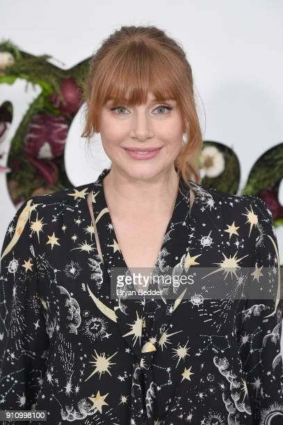 Moderator and actor Bryce Dallas Howard attends the in goop Health Summit on January 27 2018 in New York City