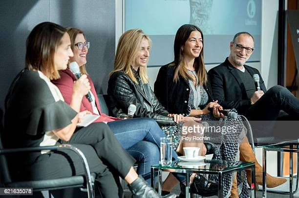 Moderator Anne Fulenwider With Christine Hunsicker, Katia Beauchamp, Rebecca Minkoff and Garry Wassner discuss Project Runway: Fashion Startup Stars...
