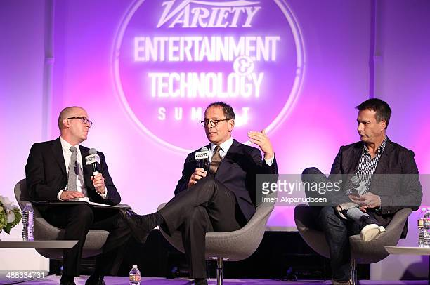 Moderator CAA cohead of marketing David Messinger NBC Universal EVP of digital advertising Scott Schiller and Chipotle chief marketing and...