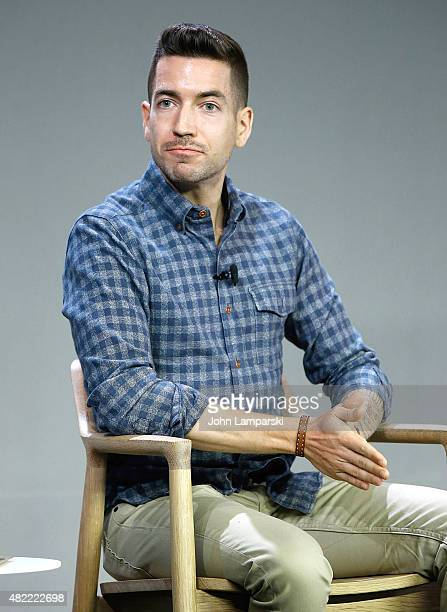 Moderator Charles Thorp attends That Sugar Film film discussion during Apple Store Soho Presents Meet the Filmmaker at Apple Store Soho on July 28...