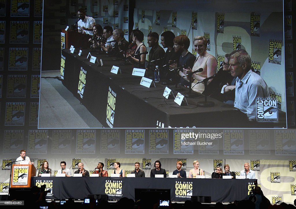 Star Wars: The Force Awakens Panel At San Diego Comic Con - Comic-Con International 2015 : News Photo