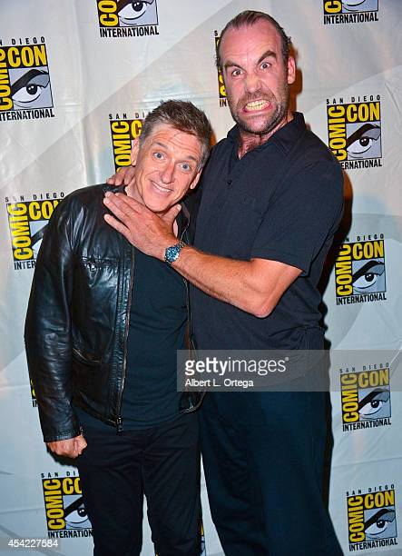 Moderator Craig Ferguson and actor Rory McCann at HBO's Game Of Thrones Panel And QA on Friday Day 2 of ComicCon International 2014 held at San Diego...
