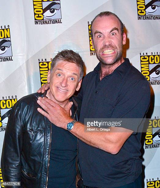 Moderator Craig Ferguson and actor Rory McCann at HBO's 'Game Of Thrones' Panel And QA on Friday Day 2 of ComicCon International 2014 held at San...