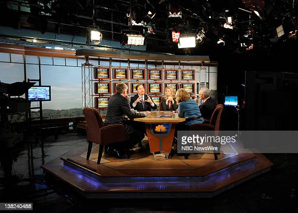 PRESS Moderator David Gregory Chuck Todd NBC News Katty Kay of BBC World News America Peggy Noonan of the Wall Street Journal and EJ Dionne of the...