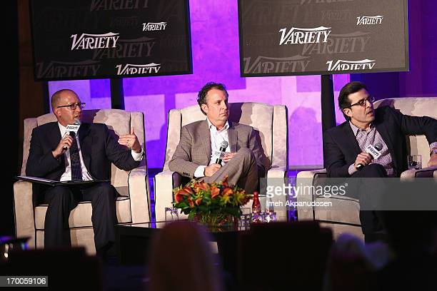 Moderator David Messinger CoHead CAA Marketing Creative Artists Agency Donald Evans CMO The Cheesecake Factory and Paul Guyardo EVP Chief Revenue...