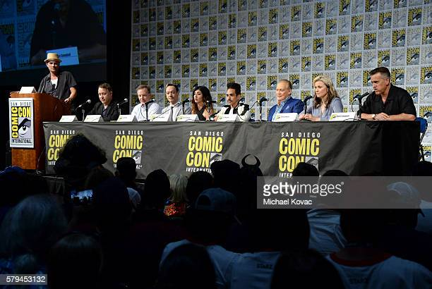 Moderator Dominic Patten Director Sam Raimi producer Robert Tapert actor Ted Raimi actress Dana DeLorenzo actor Ray Santiago actor Lee Majors actress...