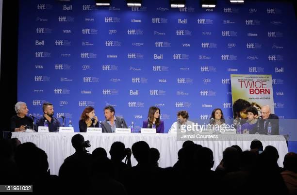 Moderator Henri Behar actor Adnan Haskovic writer Margaret Mazzantini director Sergio Castellitto actress Penélope Cruz actor Emile Hirsch actress...