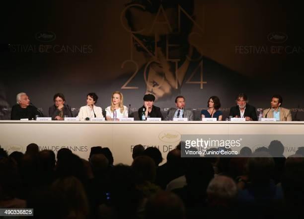 Moderator Henri Behar Eric Gautier actresses Jeanne Balibar Nicole Kidman director Olivier Dahan actor Tim Roth actress Paz Vega producer PierreAnge...