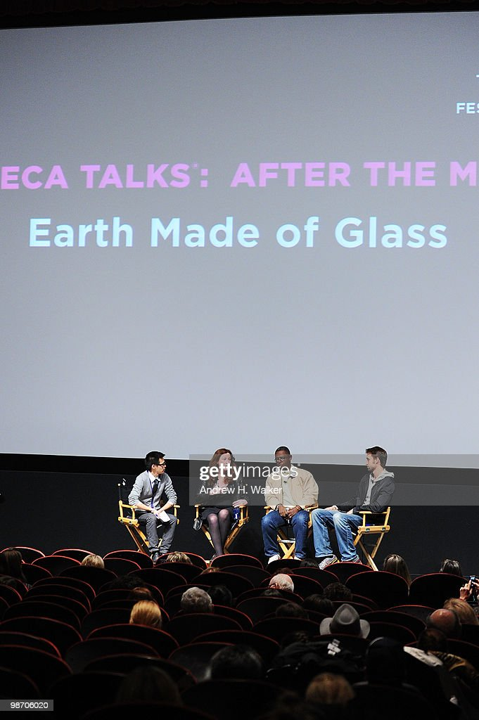 """Tribeca Talks: """"Earth Made Of Glass"""" At The 2010 Tribeca Film Festival : News Photo"""