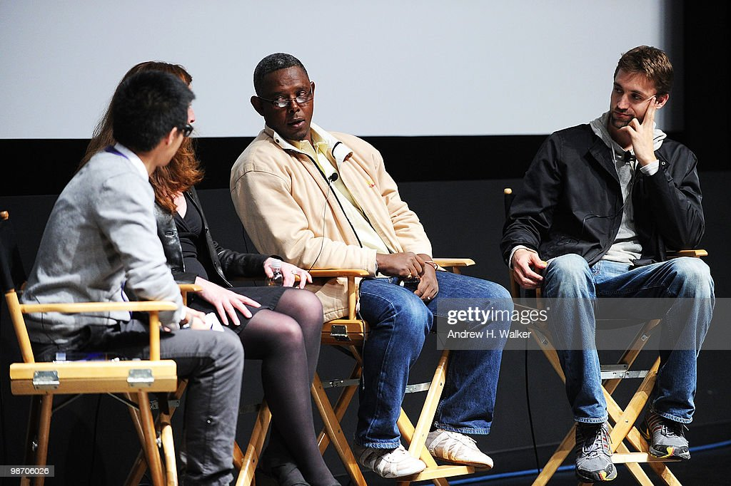 "Tribeca Talks: ""Earth Made Of Glass"" At The 2010 Tribeca Film Festival : News Photo"