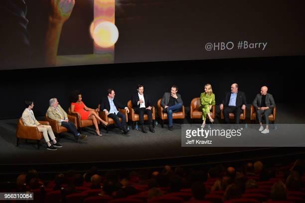 Moderator John Mulaney actors Henry Winkler Paula Newsome Stephen Root and Bill Hader writer Alec Berg actors Sarah Goldberg Glenn Fleshler and...