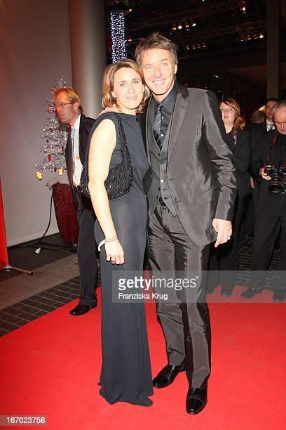 Moderator Jörg Pilawa Und Und Ehefrau Irina Bei Der Aftershowparty Zur Ein Herz Für Kinder Gala In Der Ullstein Halle Am 151207
