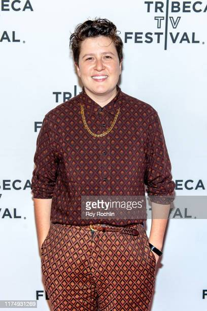 """Moderator Jude Dry attends the """"Transparent"""" screening at the 2019 Tribeca TV Festival at Regal Battery Park Cinemas on September 15, 2019 in New..."""