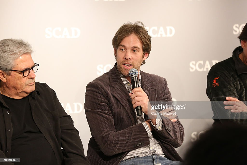 Moderator Kevin Bar speaks during 'Hollywood of the South: Georgia Studios' during Day Two of aTVfest 2016 presented by SCAD on February 5, 2016 in Atlanta, Georgia.