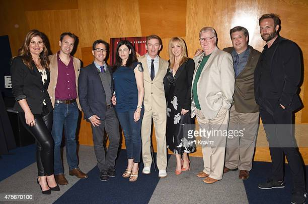 Moderator Kristin Dos Santos HBO executive Casey Bloys actors Dan Bucatinsky Laura Silverman exectuve producer Michael Patrick Kin actors Lisa Kudrow...