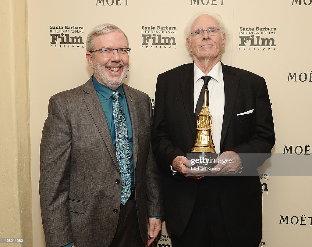 The Moet & Chandon Lounge At The Santa Barbara International Film Festival Honoring Bruce Dern