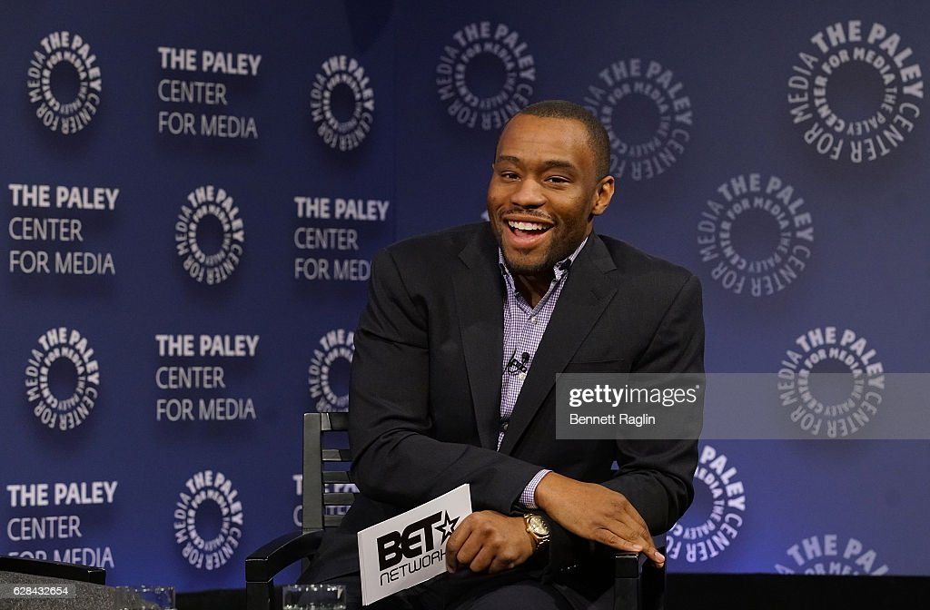 Moderator Marc Lamont Hill attends BET Presents 'An Evening With 'The Quad'' At The Paley Center on December 7, 2016 in New York City.
