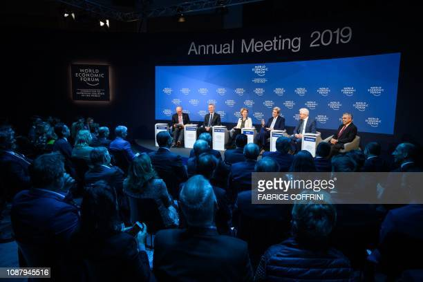 Moderator Munich Security Conference Chairman Wolfgang Ischinger Moderator NATO secretarygeneral Jens Stoltenberg Germany Defense Minister Ursula von...