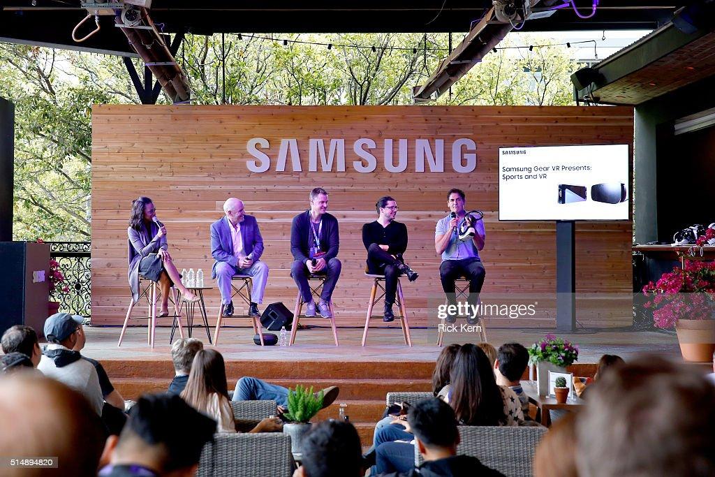 The Samsung Studio At SXSW 2016 : News Photo