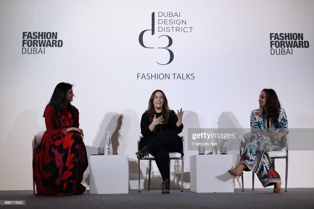 Moderator Ritu Upadhyay Women S Wear Daily Fashion Designer Mary News Photo Getty Images