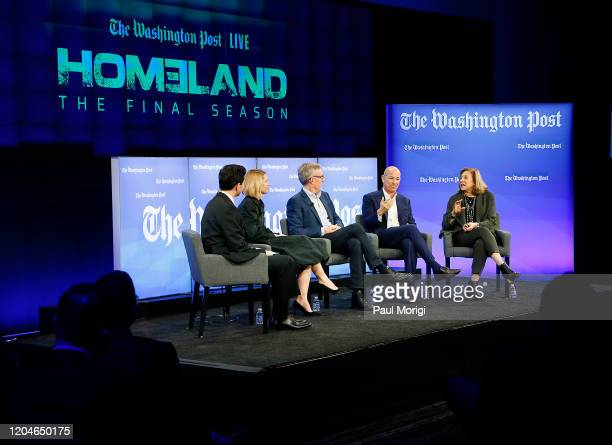 Moderator Robert Costa Emmy and Golden Globe awardwinning actress Claire Danes Homeland Cocreators and executive producers Alex Gansa and Howard...