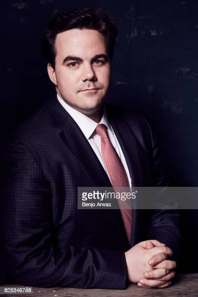 Moderator Robert Costa of PBS's 'Washington Week' poses for a portrait during the 2017 Summer Television Critics Association Press Tour at The...