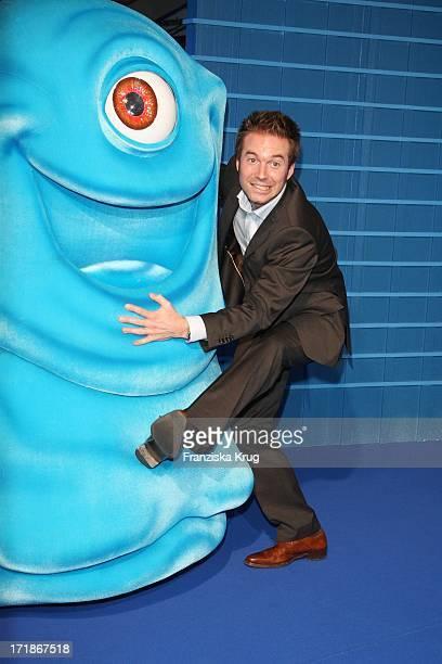 Moderator Sebastian Hoffner at the Premiere of 'Monsters Vs Aliens' in Colosseum Kino in Berlin on 090309