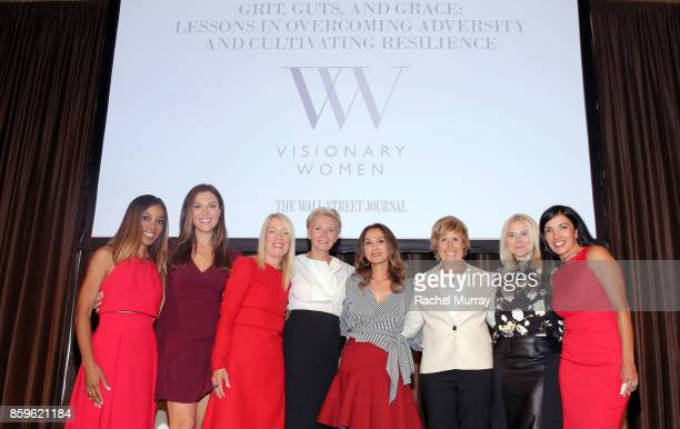 Moderator Shaun Robinson Visionary Women Executive Board Members Thea Andrews Lili Bosse Shelley Reid Angella Nazarian guest speaker Diana Nyad...