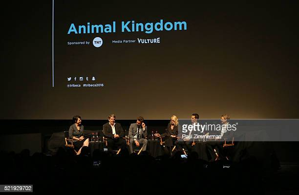 Moderator Stacey Wilson Hunt, Executive Producer John Wells, Actor Scott Speedman, Actor Ellen Barkin, Actor Shawn Hatosy and Executive Producer,...