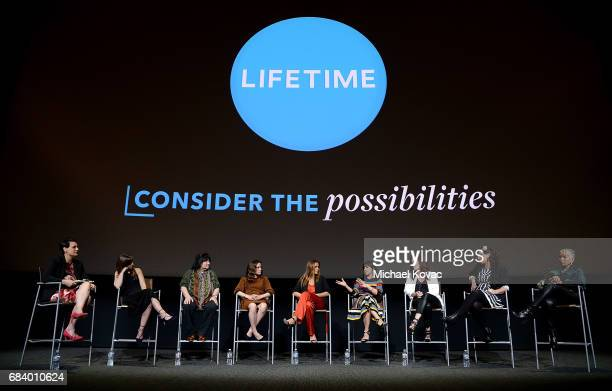 Moderator Stacey Wilson Hunt writer Tara Armstrong director Holly Dale actress Caroline Dhavernas actress Catalina Sandino Moreno actress Constance...