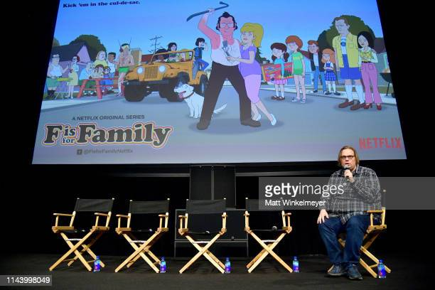 Moderator Todd VanDerWerff speaks onstage at the Netflix Adult Animation QA and Reception on April 20 2019 in Hollywood California