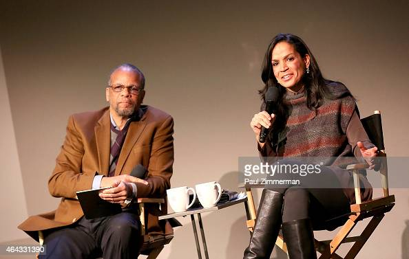 Moderator William C Rhoden And Director Producer Crystal Mccrary News Photo Getty Images