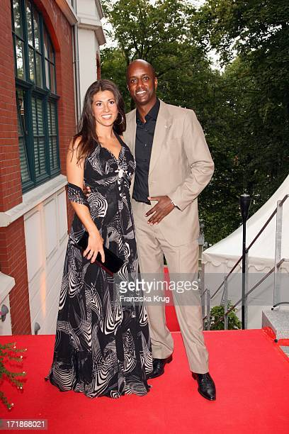 """Moderator Yared Dibaba And Wife In The """"Media Night"""" On The Siillberg In Hamburg On 290808"""