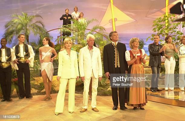 Moderatorin Carmen Nebel Entertainer Sänger und Moderator Rudi Carrell Michael Hartl Ehefrau Marianne Hartl Nino de Angelo Francine Jordi...