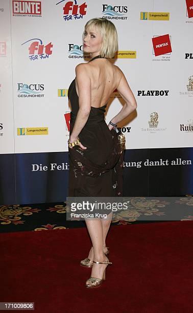 Moderatorin Christiane Gerboth Bei Der Verleihung Des Felix Burda Award Im Hotel Ritz Carlton In Berlin Am 280307