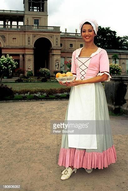 """Moderatorin Madeleine Wehle, während der ORB-Show """"Der große Abend"""", Sendetermin , Potsdam, bei Berlin, Deutschland, Europa, , """"Orangerie"""" im """"Schloß..."""